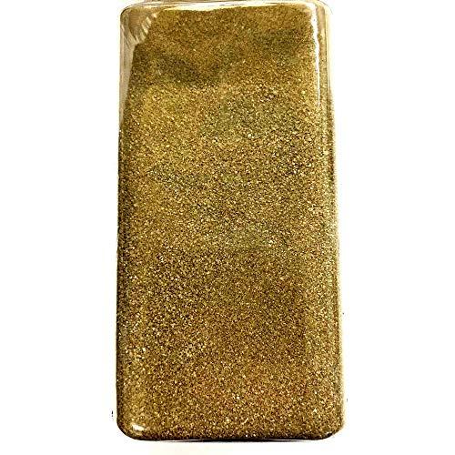 HAC24 Dekosand Streudeko 700g Dekosteine Tisch Deko Sand Dekogranulat Streusand Dekorationssand Gold Silber Creme Braun (Gold, Sand)