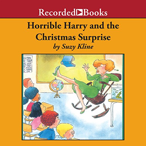 Horrible Harry and the Christmas Surprise audiobook cover art