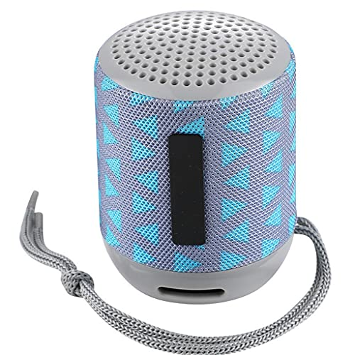 ZZNNN Altavoces pequeños Altavoz Bluetooth portátil Barra de Sonido inalámbrica Subwoofer Soporte Tarjeta USB TF FM caixa de som Altavoces (Color : Blue)