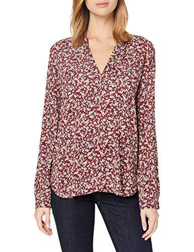 ESPRIT Damen 100EE1F302 Bluse, 403/NAVY 4, 36