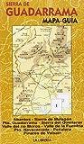 Sierra de Guadarrama. Mapa-guía: Mapa topográfico....