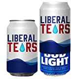 Beersy Can Cover Silicone Sleeve Hide a Beer to Look Like Soda, Fits 12 oz, Novelty Alcohol Disguise for Outdoor Events (Liberal Tears)
