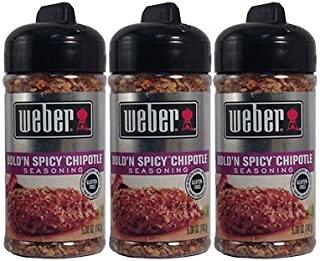 Weber Bold'N Spicy Chipotley Seasoning - 3 of 5 oz