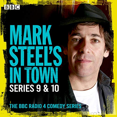 Mark Steel's in Town: Series 9 & 10 cover art
