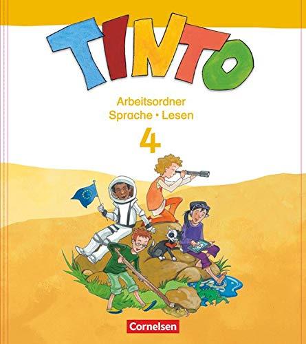 Tinto Sprachlesebuch 2-4 - Ausgabe 2013 - 4. Schuljahr: Arbeitsordner Sprache und Lesen
