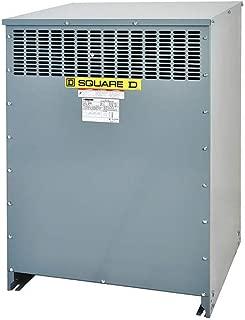 Square D - EX112T212H - 112.5kVA Three Phase Transformer, Input Voltage: 208VAC Delta