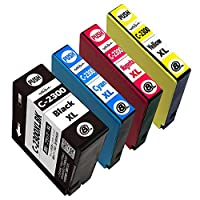 【NoSinker製】PGI-2300XL(BK/C/M/Y) 全色顔料4色セット キヤノン用互換インクカートリッジ 【最新ICチップ付】 【残量表示付】 安心365日保証付き