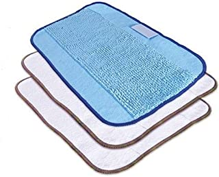 ブラーバ ブラーバ交換用クロスセット (ドライクロス2枚・ウェットクロス1枚) アイロボット iRobot Braava 320&380t用クリーニングクロス乾拭き用2枚×水拭き用1枚セット