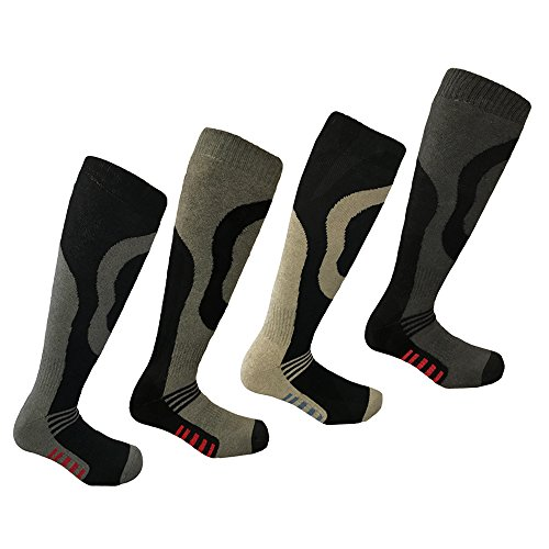 i-Smalls Chaussettes de Ski Lot de 4 Long...
