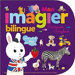Livres d'anglais pour les tout petits Mon imagier bilingue anglais francais