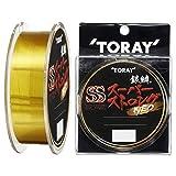 東レ(TORAY) ナイロンライン 銀鱗 スーパーストロング ネオ 150m 2.5号 ゴールド