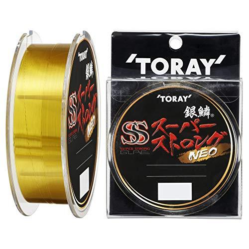 東レ(TORAY) ナイロンライン 銀鱗 スーパーストロング ネオ 150m 1.5号 ゴールド