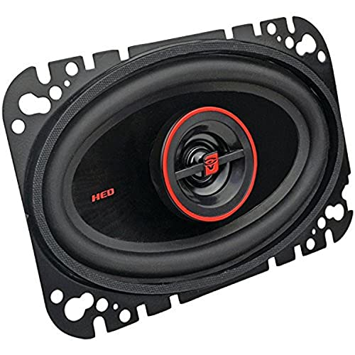 """CERWIN-VEGA MOBILE H746 HED(R) Series 2-Way Coaxial Speakers (4"""" x 6"""", 275 Watts max)"""