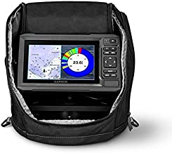 Garmin ECHOMAP Plus 63cv Ice Fishing Bundle, 010-01889-15