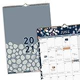 (in Inglese) Calendario 2021 Perfect Year Boxclever Press A3. Bellissimo calendario con etichette dei mesi. Calendario 2021 da muro e planner mensile, va da Gen 21 a Dic 21 con comoda tasca e adesivi.