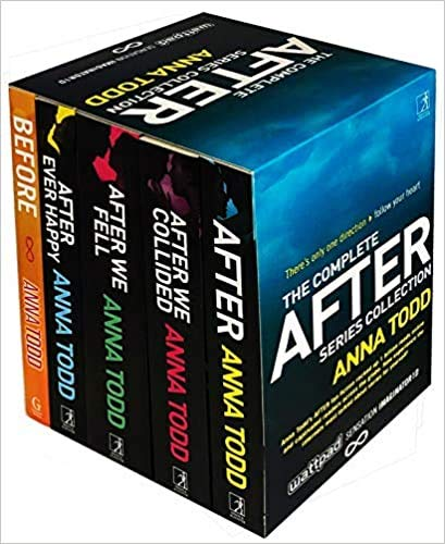 by Anna Todd The Complete After Series Collection 5 Books Box Set After Ever Happy After After We Collided After We Fell Before = 1 JanUARY 2015 ..