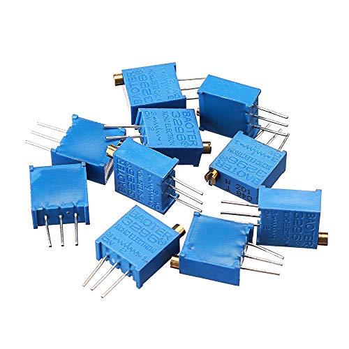 Módulo electrónico 10pcs 200 ohmios Trimpot el potenciómetro Equipo electrónico de alta precisión
