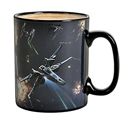 ABYstyle -STAR WARS - taza effecto termico- 460 ml - Space Battle