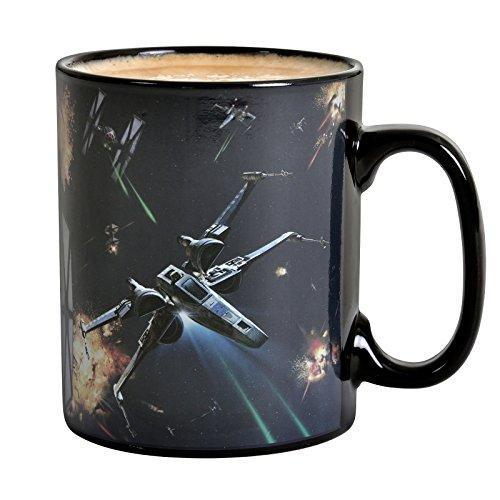 ABYstyle -STAR WARS - thermisch reaktiv Tasse - 460 ml - Weltraumschlacht