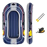 Bestway Unisex-Youth BW61083-21 Hydro-Force Treck - Bote Inflable para 1 Persona, Bote de Goma, Multicolor, Talla única