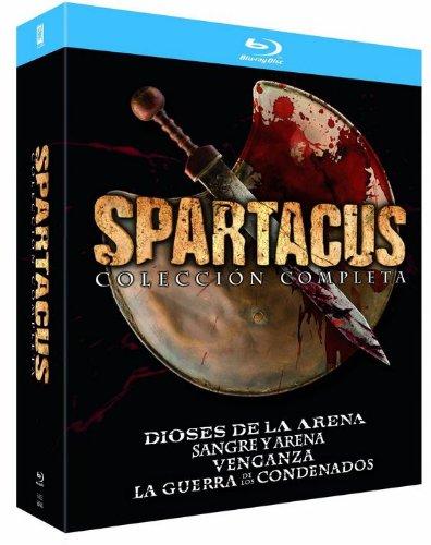 Coleccion Spartacus (Dioses De La Arena+Sangre Y...