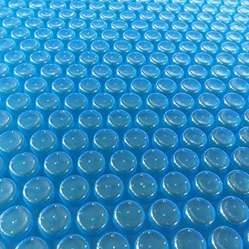 Couverture Solaire Bleue pour Piscine Hors Terre Rectangulaire, Couverture de Piscine Durable Anti-poussière, Facile À Installer (Size : 2x3.4m)