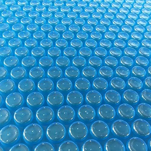 Lona alquitranada Cubierta de Manta Solar Azul para Piscinas Elevadas Rectangulares, Cubierta de Piscina Duradera Antipolvo, Fácil de Instalar (Size : 2x3m)