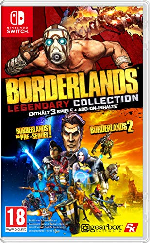 Borderlands Legendary Collection - [Nintendo Switch][AT-PEGI]