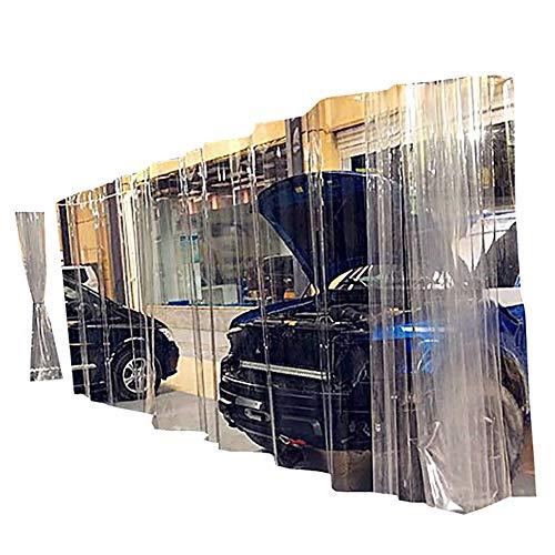 Lonas Lonas Transparentes Industriales de Servicio Pesado - Cortina Impermeable de PVC con Ojales, Película de Invernadero de Invierno, Carpa de Obra (Size : 1.7×2.5m)