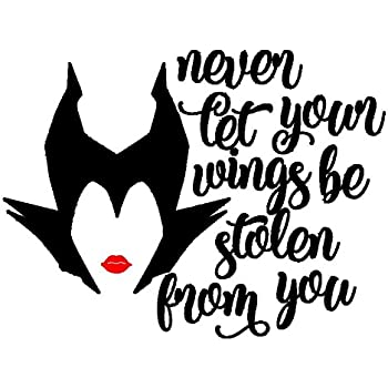 Maleficent Disney Decal Vinyl Sticker for Car Wall or Laptop