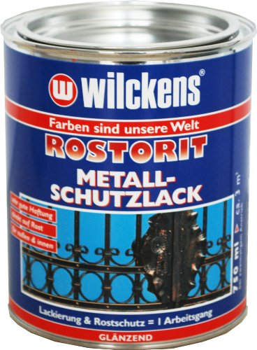 Wilckens Rostorit Metallschutzlack 750ml SRS 6005 RAL 6005 moosgrün glänzend