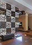 Wowye Hanging PVC Room Divider Kit,12PCS Free-Hanging...