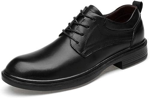 Ruanyi Oxfords Oxfords Oxfords décontractés, Motif de Crocodile Confortable, Chaussures à Taille Basse (Couleur   Smooth noir, Taille   44 EU) fe8
