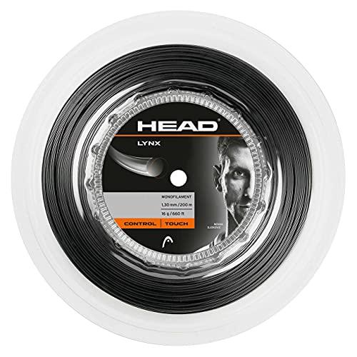 HEAD Unisex's Lynx Racquet String-Multi-Colour, maat 17/200 m