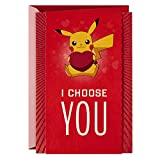Hallmark Pokémon Valentines Day Card, Anniversary Card, Love Card...