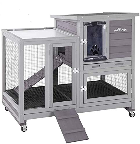Rabbit Hutch Grey