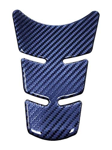 Protection Réservoir Adhésive 3D pour Motos Slim Short, Carbone Hi-Lux, 16,5 x 11,5 cm