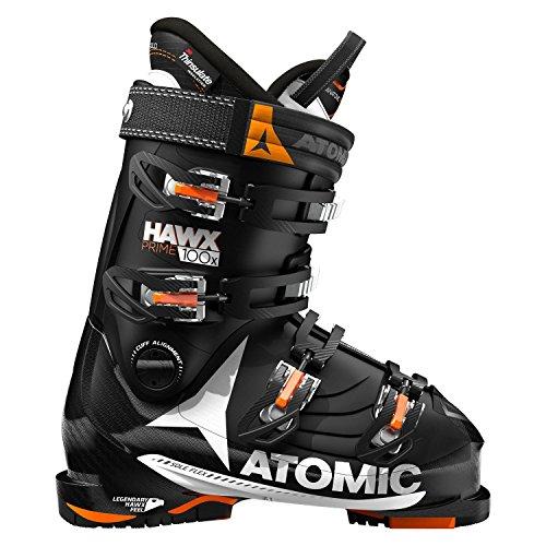 Bottes de ski « Hawx Prime 100 X » - Pour homme, noir/orange, 26 1/2