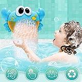 Ylout Kinder Bad Spielzeug Krabben Bubble Machine, Lustige Musik Bad Bubble Maker Pool Schwimmen...