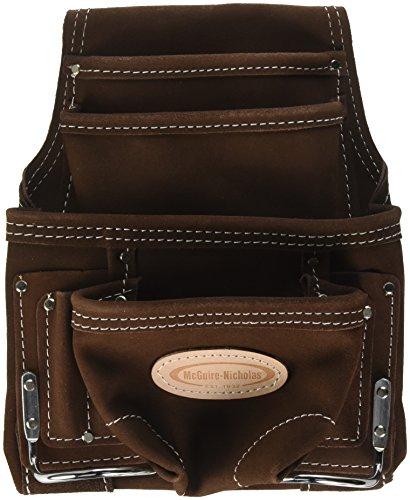 McGuire-Nicholas 688 Genuine Suede Leather Nail & Tool Bag