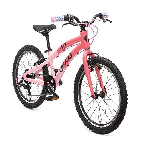 OLLO Premium Kinderfahrrad 20 Zoll (ab 6 Jahre) für Jungen & Mädchen (nur 8,9 kg) - pink