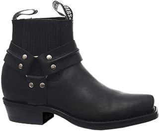 mens ankle cowboy boots uk