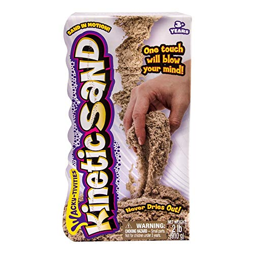 Product Image of the The One and Only Kinetic Sand, 2lb Brown for ages 3 and up.