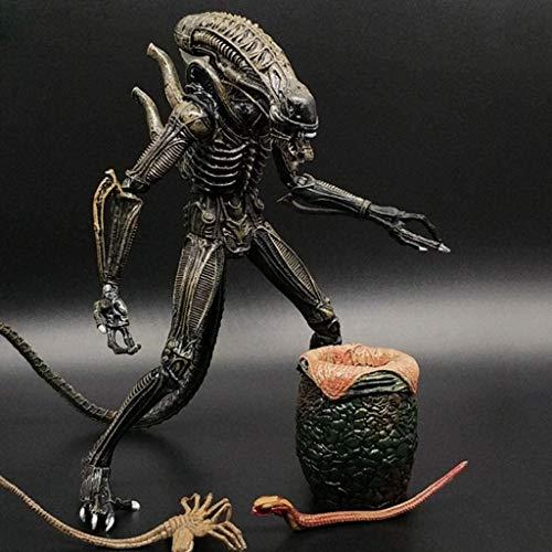 hclshops DVD- Aliens Vs Predator - 7' Escala Mantis Extranjero (Amarillo} & heteromorphic Huevo Figura de acción de colección for los Aficionados Extranjeros