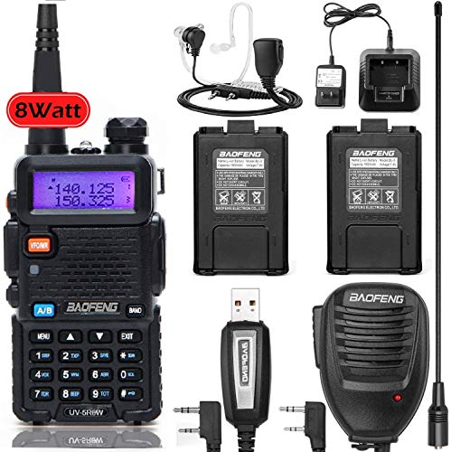 Baofeng UV-5R 8W 6 in 1 Set High Power Two