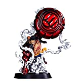 Anime (Figura de acción) One Piece Monkey D Luffy Gear 4 SNAKEMAN King Cobra Anime Modell PVC - Fans...