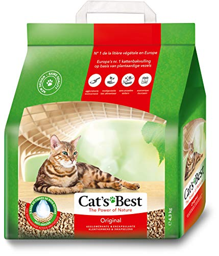 Cat's Best Öko Plus Cat Litter, 4.3kg