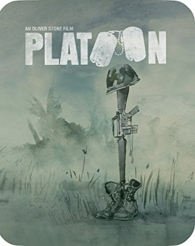 Platoon (Limited Edition Steelbook) [Blu-ray]