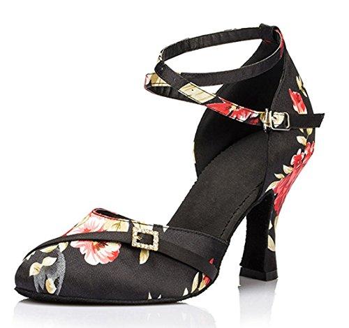 MGM-Joymod , Damen Jazz & Modern , Schwarz - Black/8cm Heel - Größe: 35.5