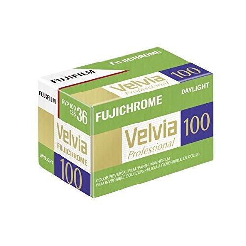 Fijifilm Velvia RVP 100 135/36 - Carrete fotográfico